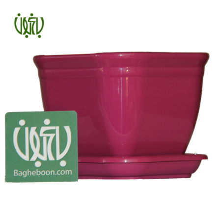 گلدان پلاستیکی رنگی  گلدان پلاستیکی کلاسیک مدل 1012 goldan 1012 450x450
