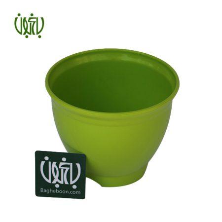 گلدان پلاستیکی گرد  گلدان پلاستیکی کلاسیک مدل 3015 flower pot plastic colored 3015 1 450x450