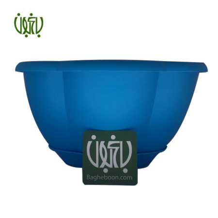 گلدان پلاستیکی  گلدان پلاستیکی گل آذین مدل 320 flower pot plastic colored 320 2 450x450