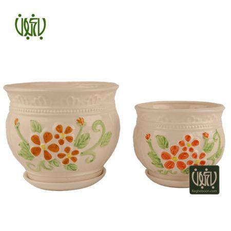 گلدان سفالی  گلدان سفالی مدل 40-12 Ceramic Vase Model 12 40 1 450x450