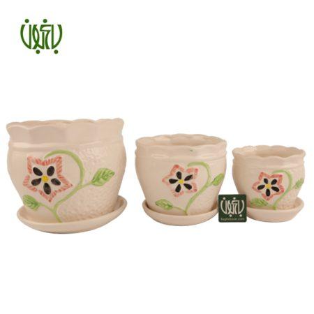 گلدان سفالی  گلدان سفالی مدل 70-12 Ceramic Vase Model 12 70 1 450x450