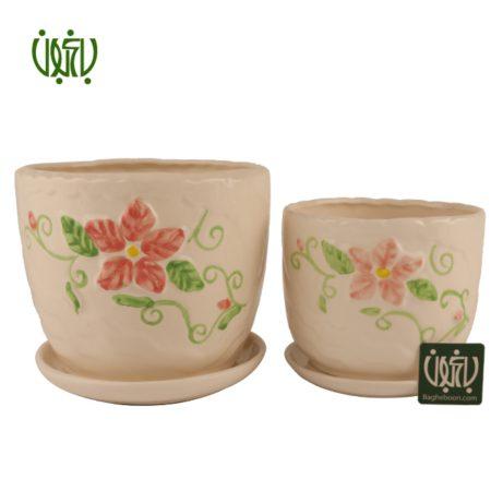 گلدان سفالی  گلدان سفالی مدل 20-12 Ceramic Vase Model 12 20 1 450x450