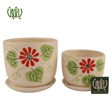 گلدان سفالی  گلدان سفالی مدل 25-14 Ceramic Vase Model 14 25 1 450x450