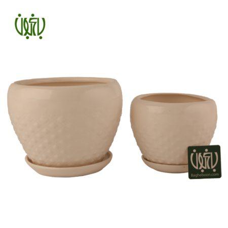 گلدان سفالی  گلدان سفالی مدل 15-30 Ceramic Vase Model 30 15 1 450x450