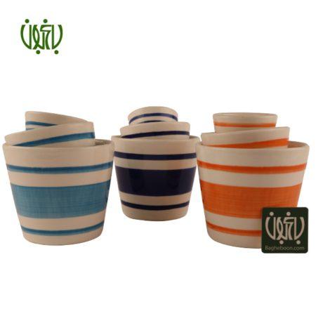 گلدان سفالی  گلدان سفالی مدل 04-50 Ceramic Vase Model 50 04 6 450x450