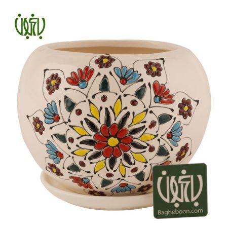 گلدان سفالی  گلدان سفالی مدل 09-50 Ceramic Vase Model 50 09 4 450x450