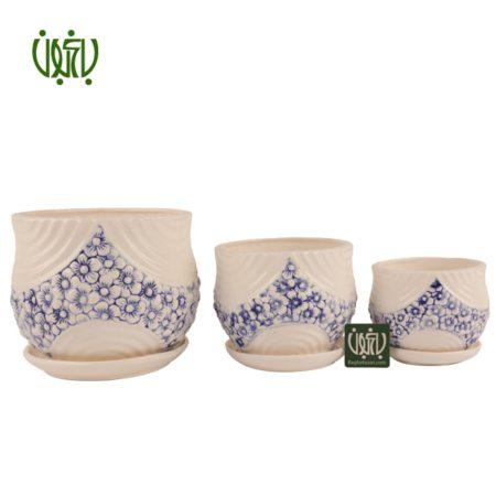 گلدان سرامیکی  گلدان سرامیکی مدل11-50 Ceramic Vase Model 50 11 1 450x450