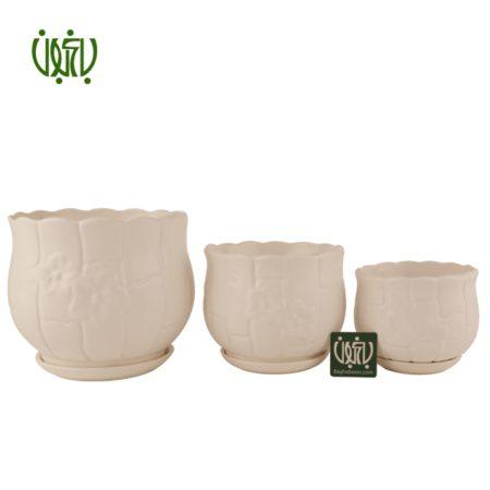 گلدان سرامیکی  گلدان سرامیکی مدل 12-50 Ceramic Vase Model 50 12 5 450x450