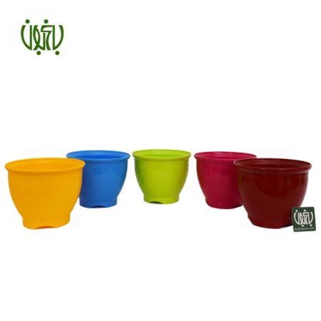 گلدان  گلدان کلاسیک مدل 3017 Plastic pot model 30 17 1 450x450