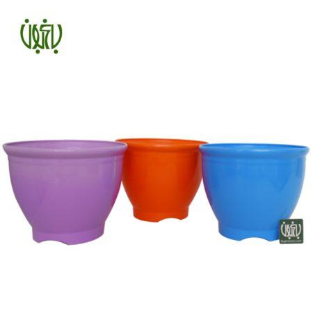گلدان  گلدان کلاسیک مدل 3025 Plastic pot model 30 25 1 450x450