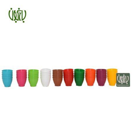 گلدان  گلدان کلاسیک مدل 3004 Plastic pot model 3004 3 450x450