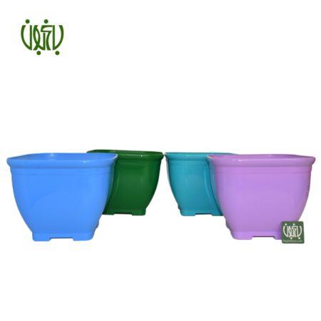 گلدان  گلدان کلاسیک مدل 1025 Plastic pot model 10 25 1 450x450