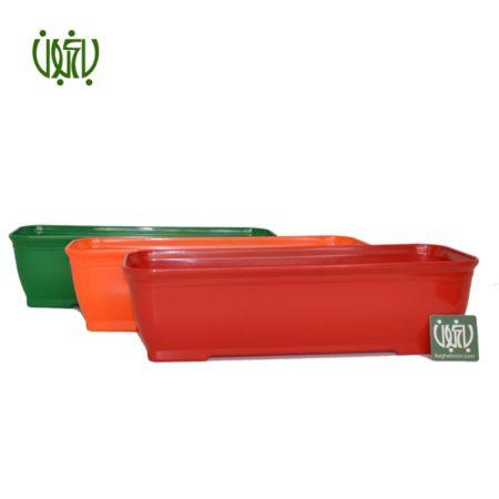 گلدان پلاستیکی  باکس کلاسیک مدل 2040 Plastic pot model 2040 1 450x450
