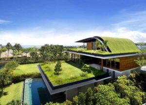 بام سبز چیست rooftop gardens 8 300x216
