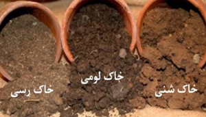 خاک های مختلف