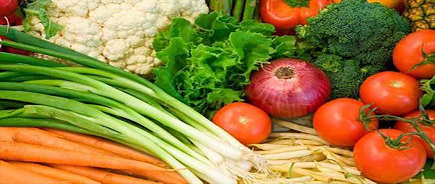 سبزیجات و سیفی جات